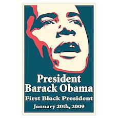 President Barack Obama Wall Art Poster