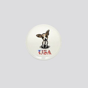 USA Chihuahua Mini Button