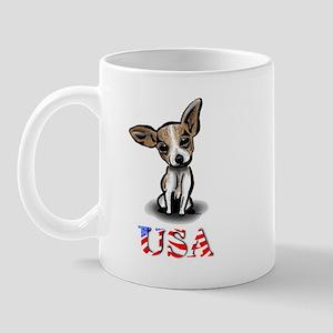 USA Chihuahua Mug