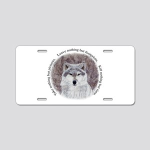 Timeless Wisdom Aluminum License Plate