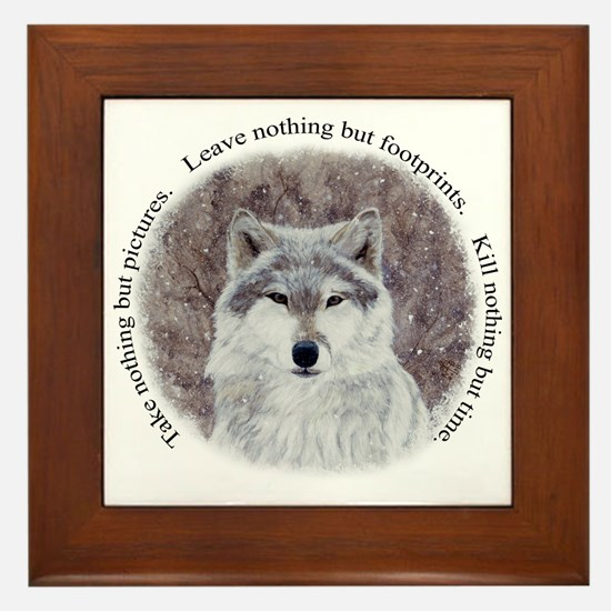 Timeless Wisdom Framed Tile