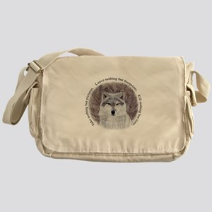 Timeless Wisdom Messenger Bag