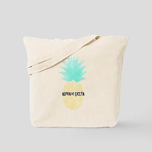 Alpha Chi Delta Sorority Pineapple Tote Bag
