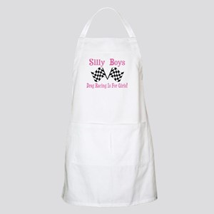 DRAG RACING IS FOR GIRLS Apron