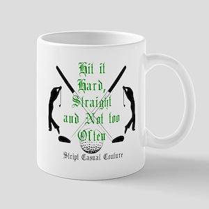 Golf Quote Large Mugs