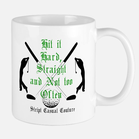 Golf Quote Large Mugs