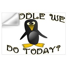 Waddle We Do Wall Art Wall Decal