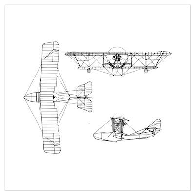 Blueprint wall art canvas art airplane blueprint wall art canvas art malvernweather Image collections
