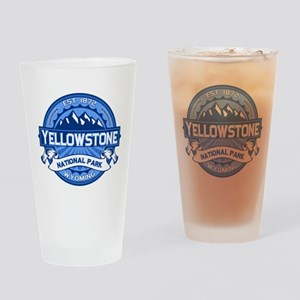Yellowstone Blue Drinking Glass