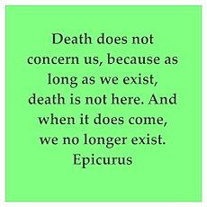 Wisdon of Epicurus Wall Art Poster