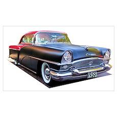 1955 Packard Clipper Wall Art Poster