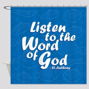 Word of God Shower Curtain