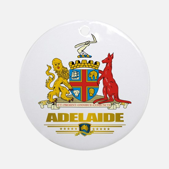 """Adelaide COA"" Ornament (Round)"