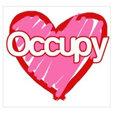 Occupy Love Wall Art Poster