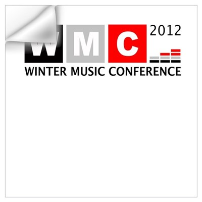WMC 2012 Winter Music Confere Wall Art Wall Decal