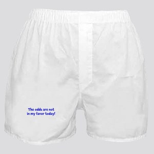 odds not in my favor Boxer Shorts