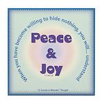 ACIM Keepsake Tile Coaster - Peace and Joy