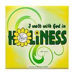 ACIM Keepsake Tile Coaster-Perfect holiness