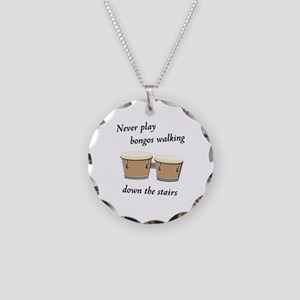 Sheldon's Bongos Necklace Circle Charm