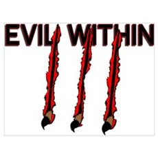 Evil Within Wall Art Poster
