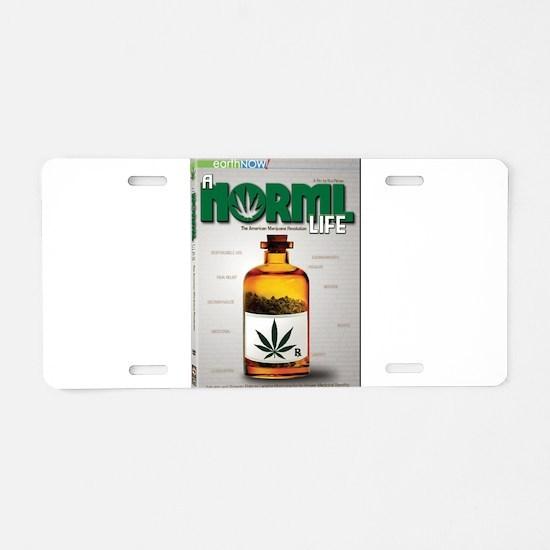 Funny Alternative medicine Aluminum License Plate