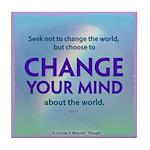 ACIM Keepsake Tile Coaster - Change your mind