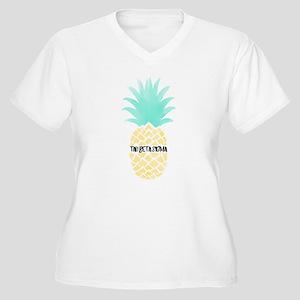 Tau Beta Sigma Pineapple Sorority Plus Size T-Shir
