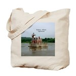 Hudson Athens Lighthouse Tote Bag