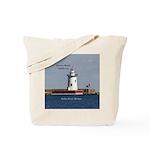 Harbor Beach Lighthouse Tote Bag