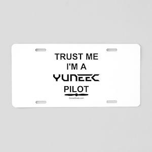 Trust Me, Yuneec Pilot Aluminum License Plate