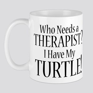 THERAPIST Turtle Mug