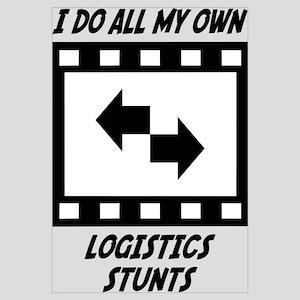 Logistics Stunts Wall Art