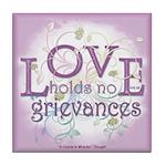 ACIM Keepsake Tile Coaster-Love holds no grievance