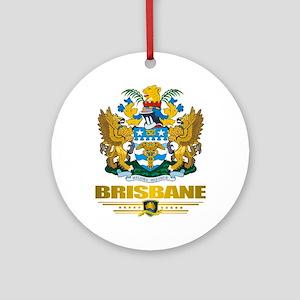 """Brisbane COA"" Ornament (Round)"