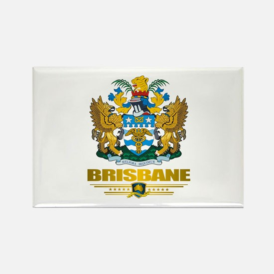 """Brisbane COA"" Rectangle Magnet"