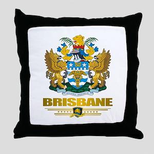 """Brisbane COA"" Throw Pillow"
