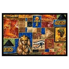 Egyptian Art Wall Art Poster