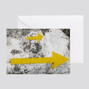 Yellow Arrows (card)