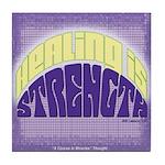 ACIM Keepsake Tile Coaster- Healing is strength