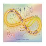 ACIM Keepsake Tile Coaster- Holy Spirit guides you