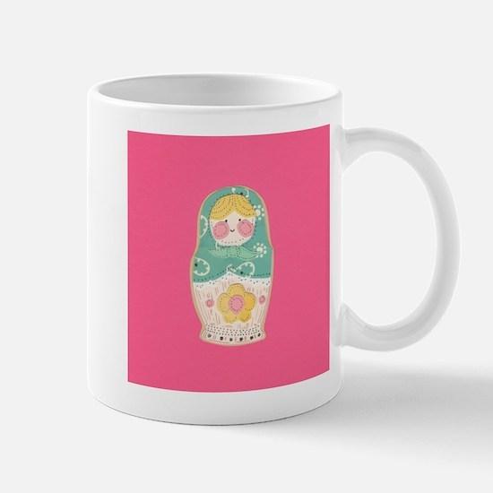 Babushka Doll Mug