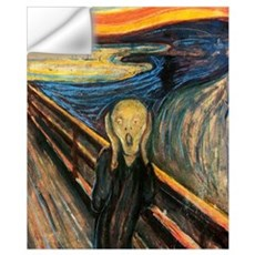 The Scream Wall Art Wall Decal