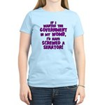 Government In My Womb Women's Light T-Shirt