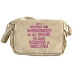 Government In My Womb Messenger Bag