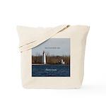Main Duck Island Light Tote Bag