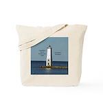 Frankfort North Breakwater Light Tote Bag
