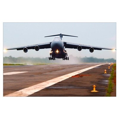C-5 Galaxy Wall Art Poster