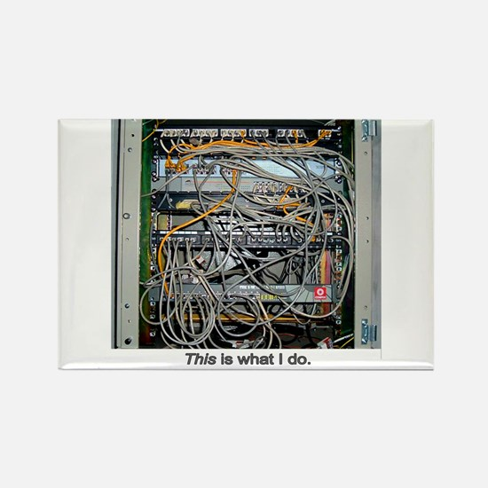 """""""What I Do"""" Rectangle Magnet (10 pack)"""