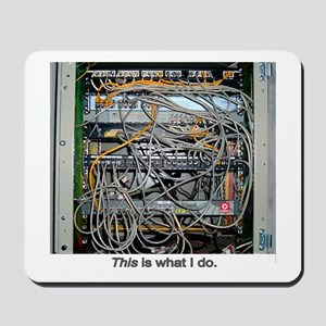 """What I Do"" Mousepad"