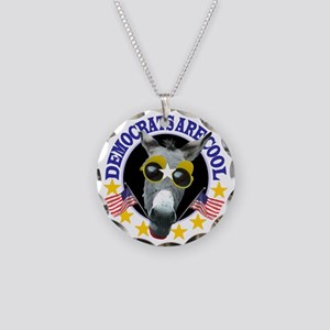 Democrats are Cool! Necklace Circle Charm